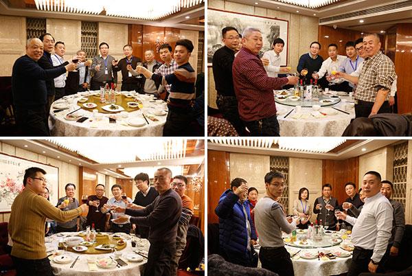 千赢国际娱乐集团南京答谢晚宴现场